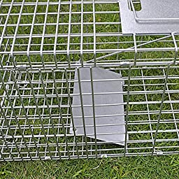 BenefitUSA Animal Trap for Possum Cat Rabbit Woodchucks Hare Mouse Cage 25.6\