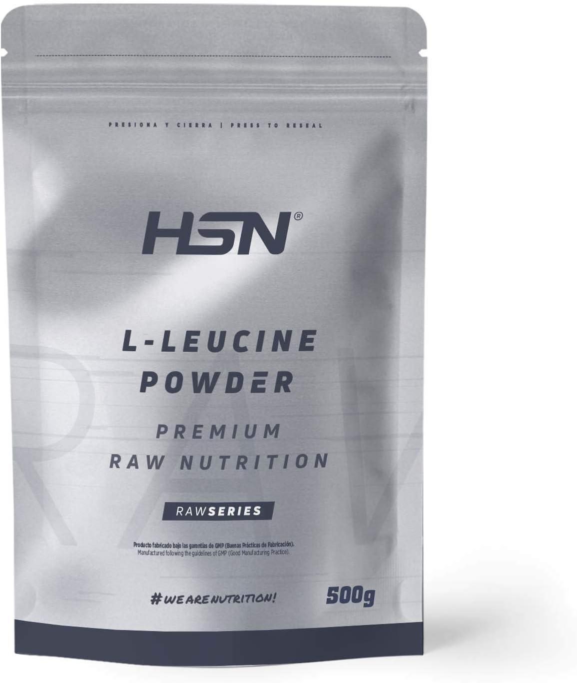 Leucina de HSN | Aminoácido Esencial Activador Anabólico para la Síntesis de Proteínas y Desarrollo Muscular | Componente de los BCAAs | Óptima ...