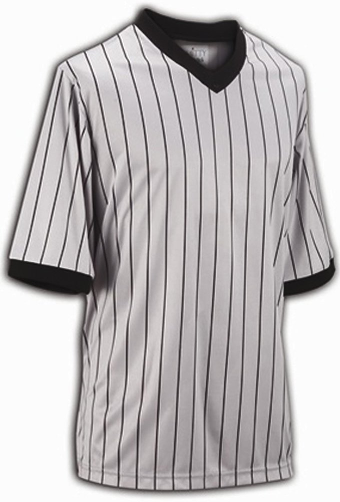 Smitty Comfort Tech Performance Mesh Grey Pinstripe V Neck Shirt, 4X-Large by Smittybilt
