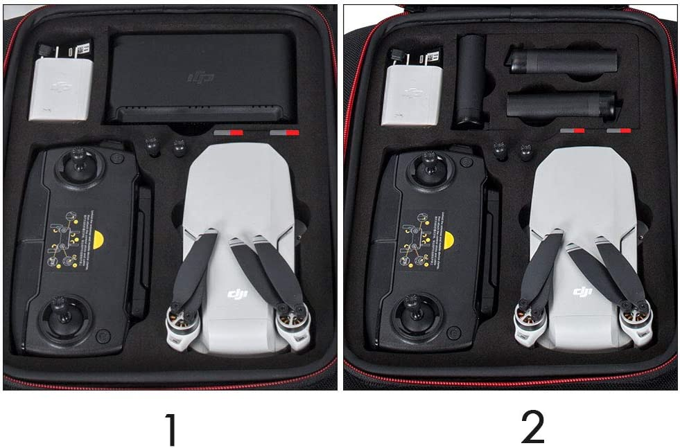 Smatree Insert Foam for Mavic Mini and Accessories only Compatible for Smatree DP1800 Backpack