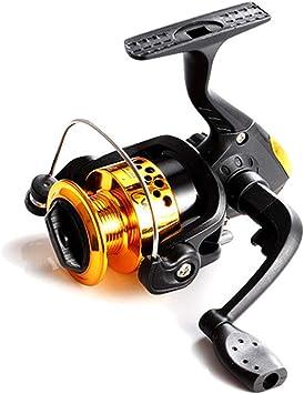 L&WB Carrete de Pesca pequeño Spinning Carretes Ultralight ...