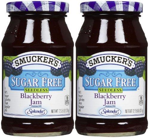 Smucker's Sugar Free Seedless Blackberry Jam, 12.75 oz, - Sugar Free Blackberry Jam