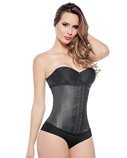 34f9f529d66 Image Unavailable. Image not available for. Color  Ann Michell 2 Hook  Classic Waist Trainer ...