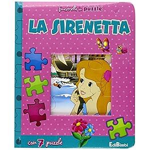 La Sirenetta Finestrelle In Puzzle Ediz Illustrata Cartonato 8 Gen 2016
