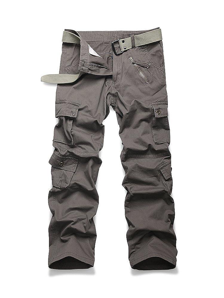 OCHENTA Mens Outdoor Woodland Military Cargo Pant