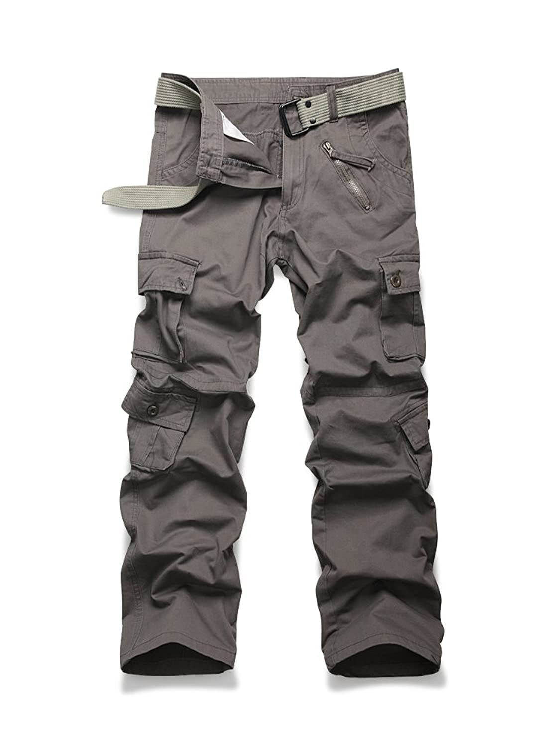 OCHENTA PANTS メンズ B079PJL7P1  #01 Grey Army Green 38