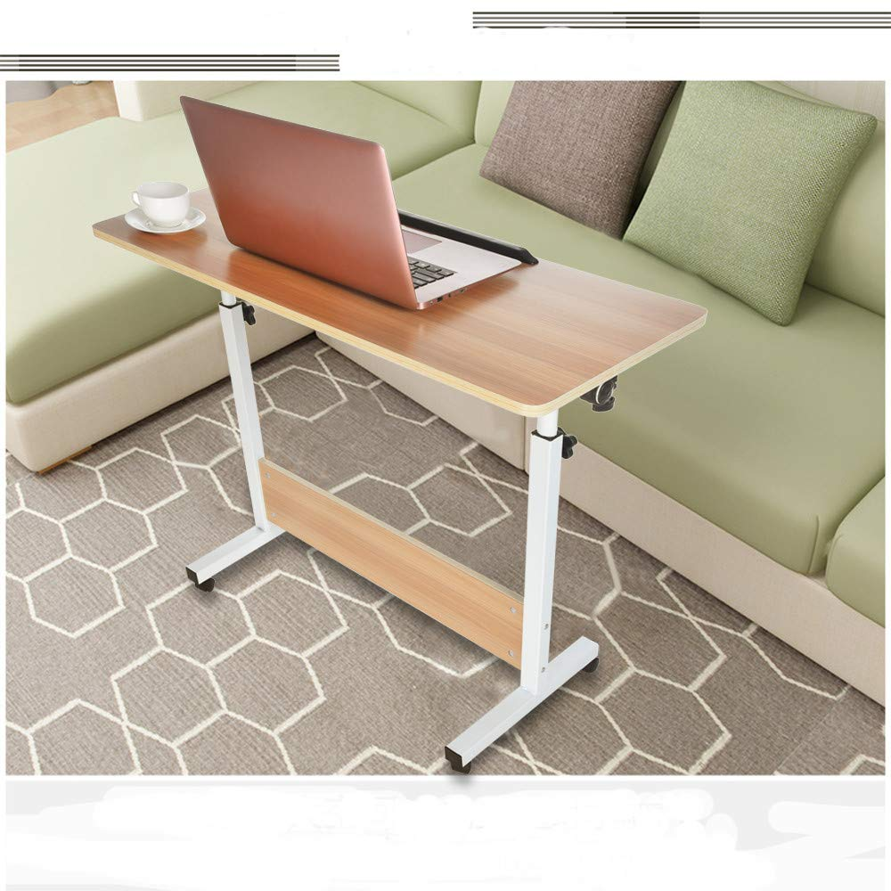 FengGa PC Laptop Office Desk Computer Desk for Small Space/Small Folding Table/Small Writing Desk/Compact Desk/Foldable Desk.Household Can Be Lifted and Folded Folding Computer Desk (80cm40cm) by FengGa 3C (Image #2)