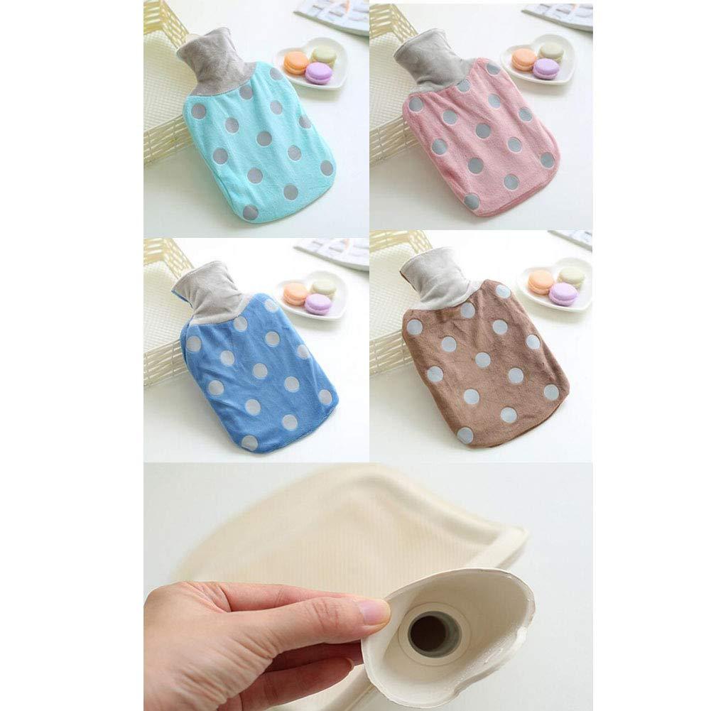 Botella de agua caliente clásica cómoda bolsa de agua caliente para el  hogar oficina -A7 George Jimmy 8e0c720b0c2