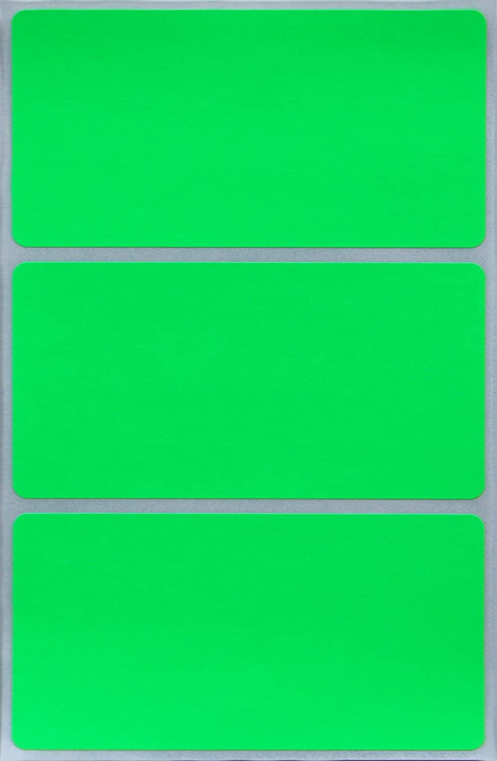 Pink Yellow Orange and Brown Royal Green Rectangular Stickers Peel and Stick Labels 4 x 2 inches in 8 Colors Red Blue 24 Pack Green Purple