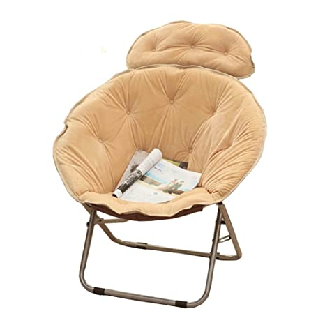 LHL -Moda Creativa cómoda Silla Suave, Sillón Plegable para ...