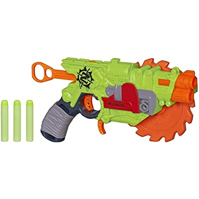 Nerf Zombie Strike Crosscut Blaster: Hasbro: Toys & Games