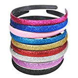 hip girl sparkle glitter headbands for dancing ballet stage cheerleading girls women high school college
