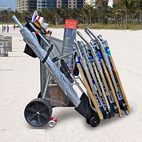 beach chair with wheels - 7
