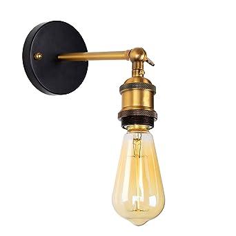 Baytter E27 Retro Wandlampe Aus Messing Wandleuchte Mit