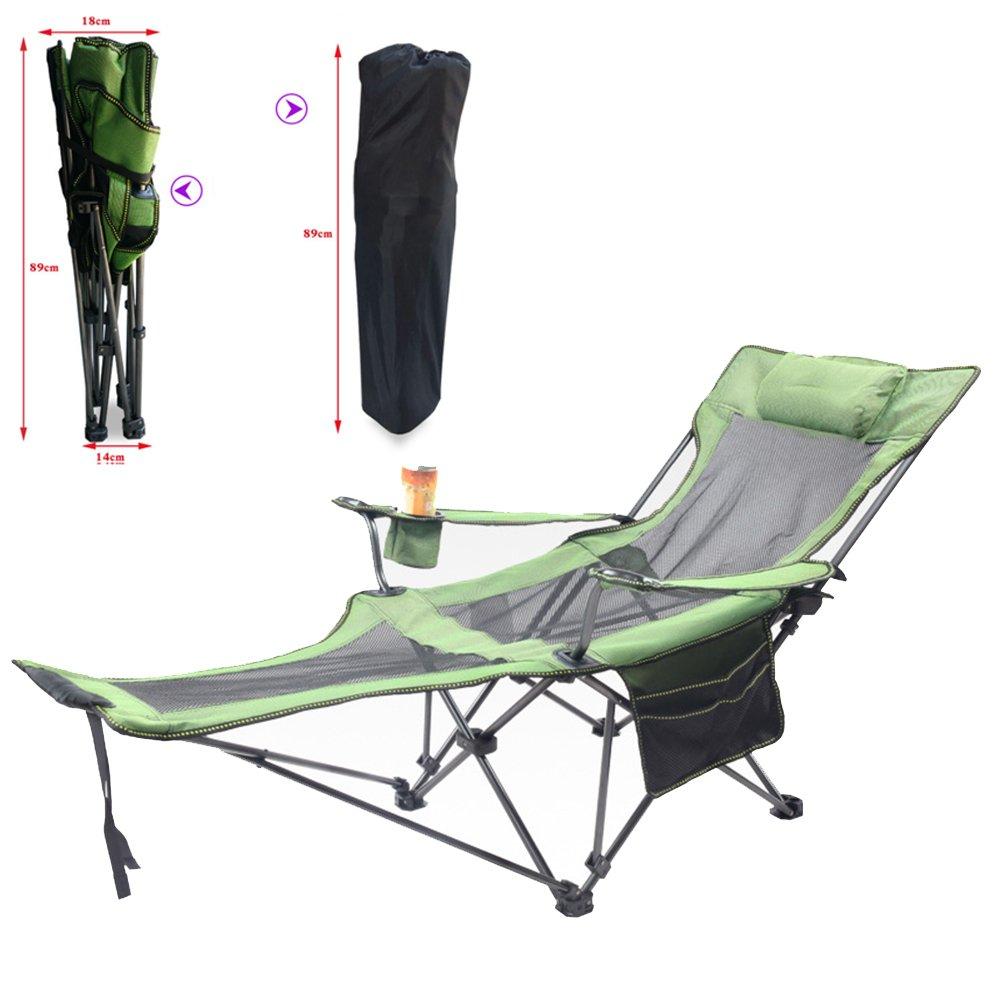 DFS Freizeit Stuhl, Outdoor Leicht zu transportieren Verstellbar Lounge Stuhl