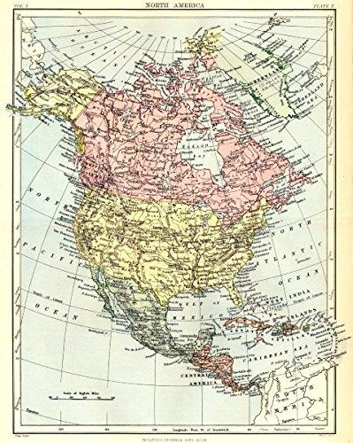 Amazon.com: NORTH AMERICA: United States Canada Mexico ...