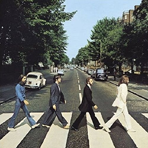 The Beatles Greeting / Birthday / Any Occasion Card: The Beatles Abbey Road (Beatles Poster Card)