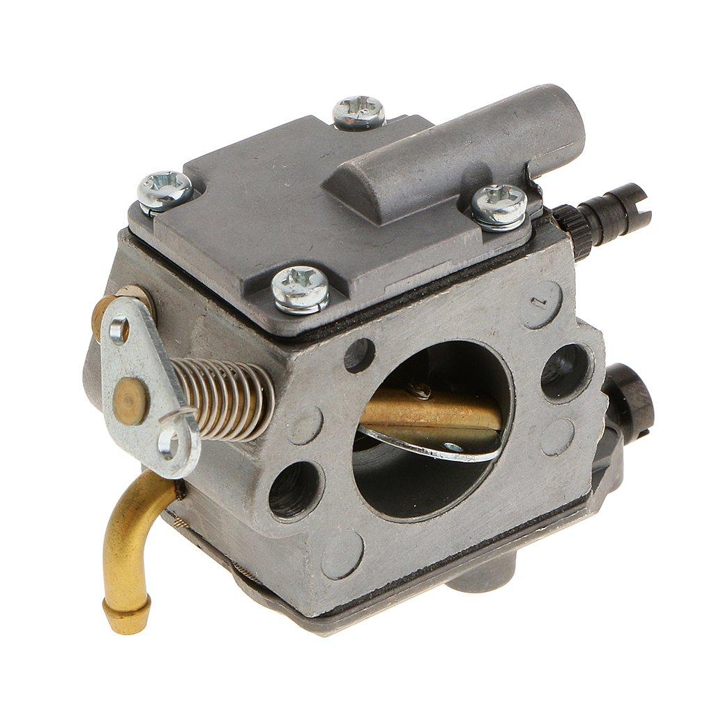Parte Carburador de Motor Cortador Hierba Cosechador Cortadora para STIHL MS200//MS200T