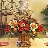 Magnolia & Rose Silk Floral Centerpiece AR246-85