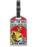 Star Wars Not The Bag You Are Looking For Droids C-3PO/R2-D2 Luggage Tag
