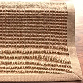 NuLOOM Natura Collection 100 Percent Sisal Area Rug, 9 Feet By 12