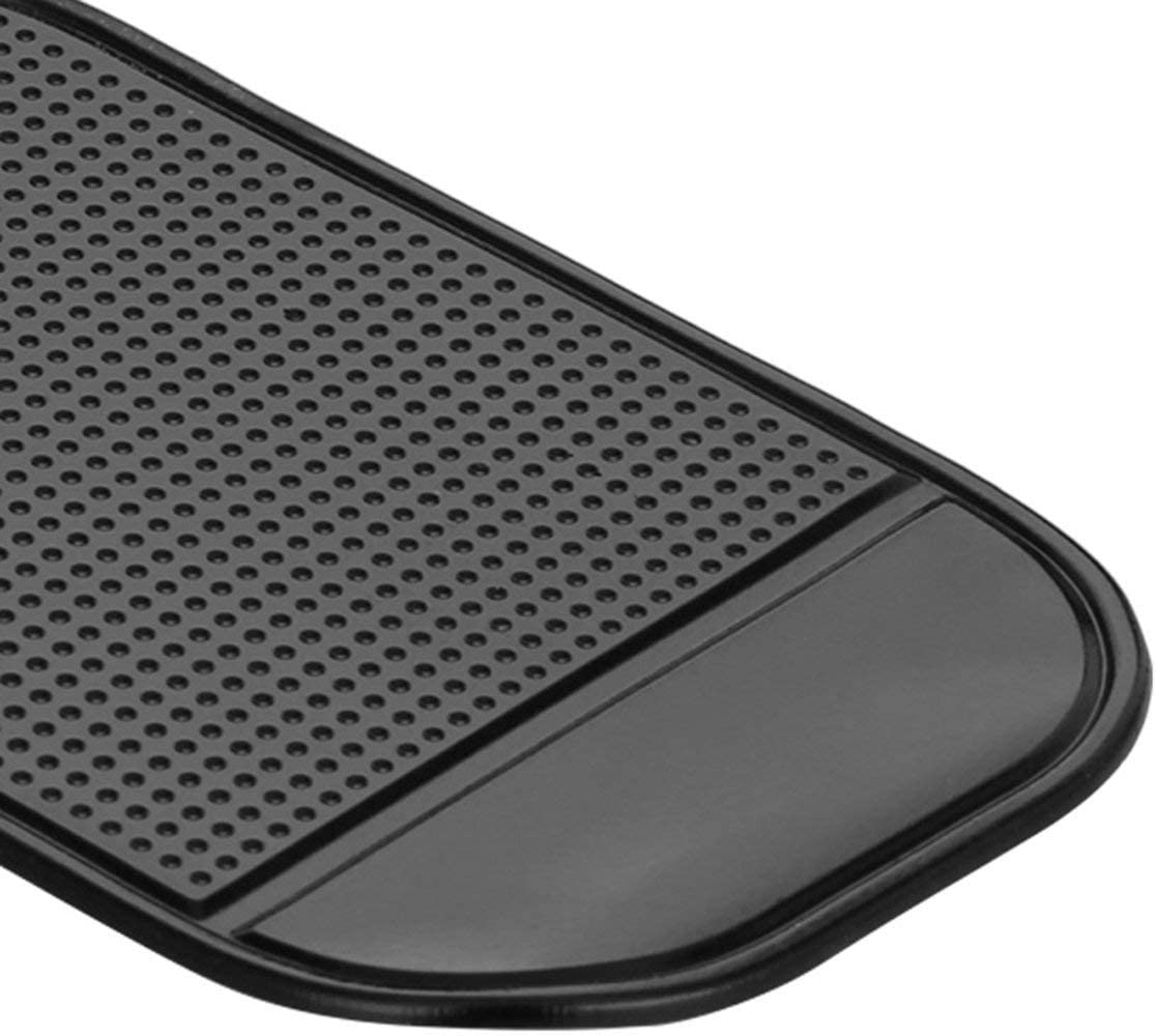 Auto Armaturenbrett Sticky Pad Auto Gadget Silikonmatte Automobile Interieur Anti-Rutsch-Matte Universal Fahrzeugzubeh/ör schwarz Monlladek Auto Armaturenbrett