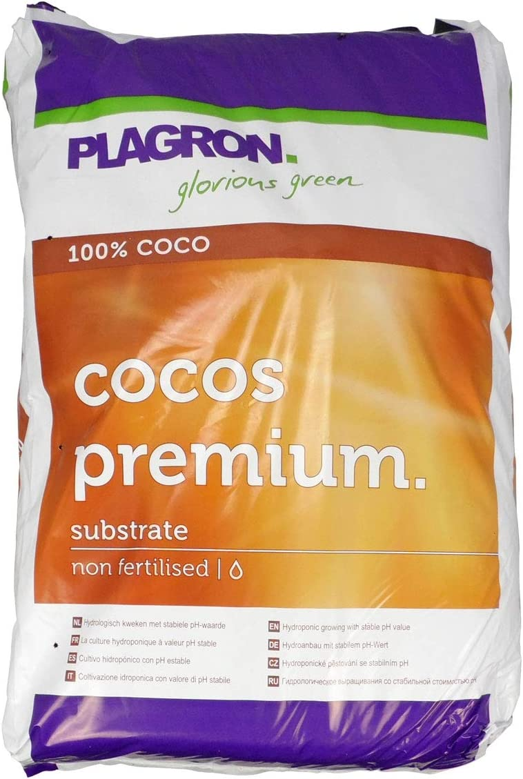 Sustrato de Cultivo Coco Premium Vegetal 100% BIO Plagron (50L)