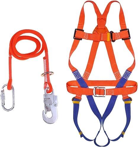 CUTICATE Cinturón Escalada Arnés de Seguridad para Cuerpo Cinturón ...