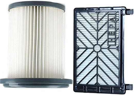 without brand FXF-xcqlx, 2pcs Aspirador Accesorios HEPA Filtros + 12 cm Filtro Elemento Fit for Philips FC8712 FC8714 FC8716 FC8720 FC8722 Filtro HEPA: Amazon.es: Hogar