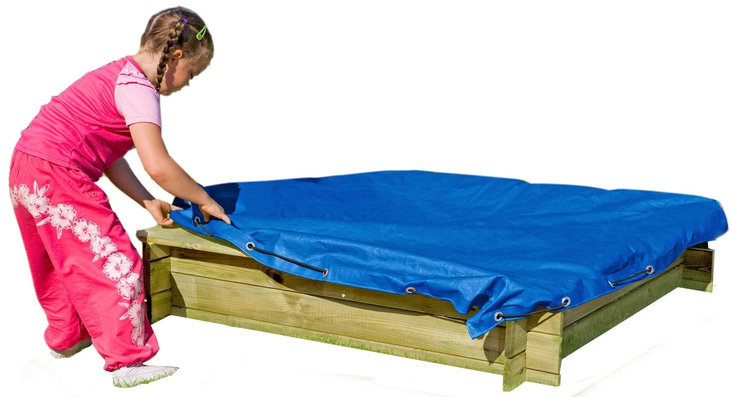 Gartenpirat Bâche de Protection pour bac à Sable de Dimensions 120 x 120 cm de