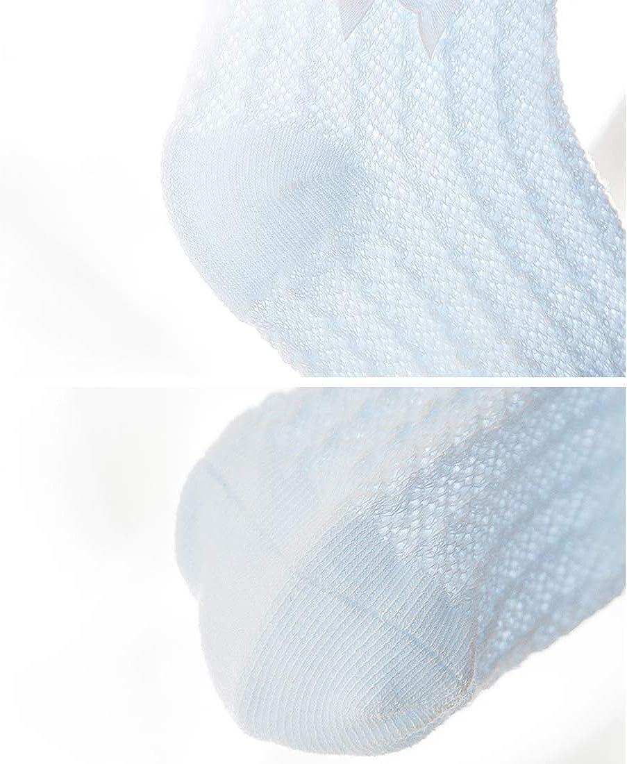 0-5 Ans Filles Bas Chaussettes Antid/érapant Longue en Coton Peign/é Respirant Souple pour Printemps///Ét/é DEBAIJIA 3 Paires Chaussettes B/éb/é Enfant Fille en Maille Dentelle Hautes Genou