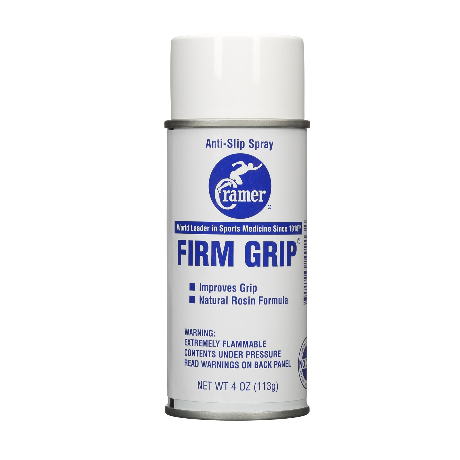 Cramer Firm Grip, Anti-Slip Grip Enhancer for Sweaty Hands & Activities Like Football, Tennis, Golf, Weightlifting, Pole Fitness & Gymnastics, Spray or Powder, 4 Ounce