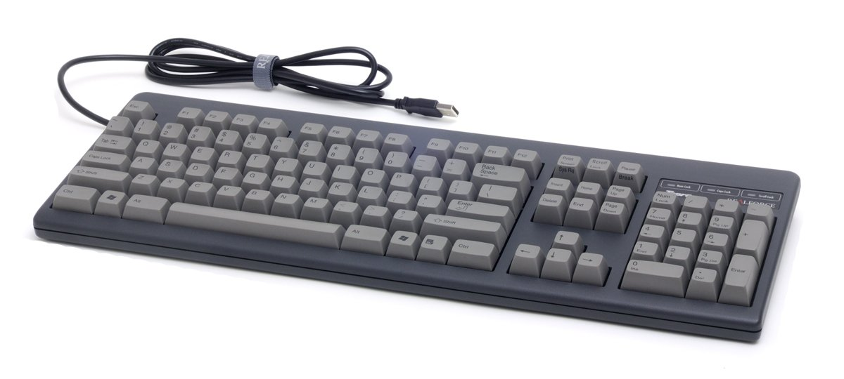Realforce 104UG ''High-Profile'' (Black/Gray)