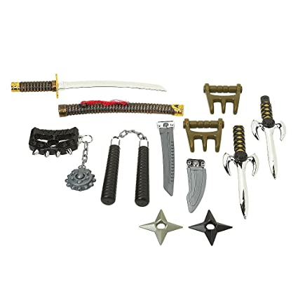 Toys R Us True Legends Deluxe Ninja Weapons Arsenal by ...
