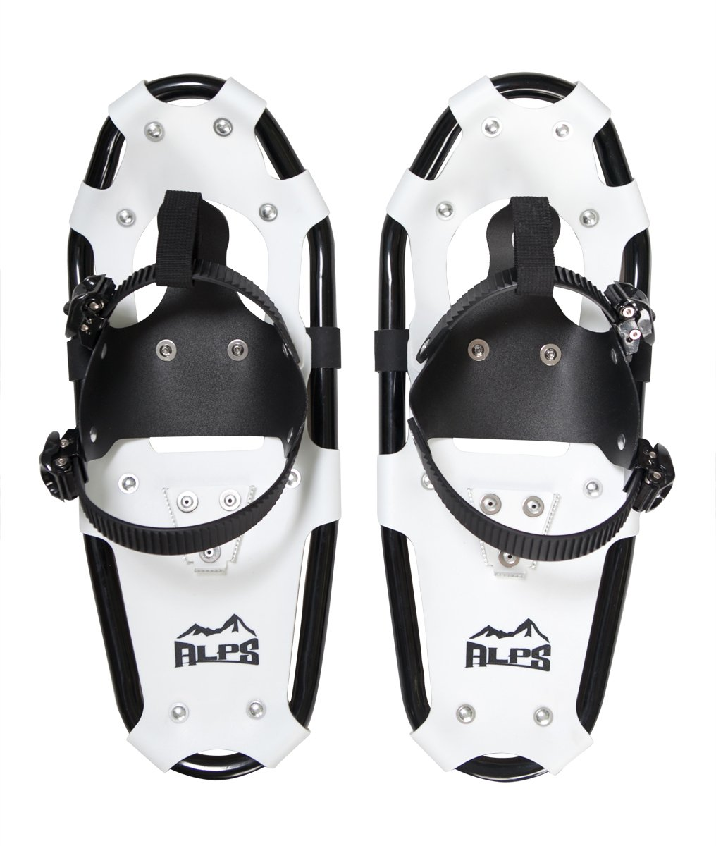 ALPS Light Weight Snowshoes for Kids, Boys & Girls Includes Snowshoes Carrying Tote Bag (19 INCHES) by ALPS Mountaineering