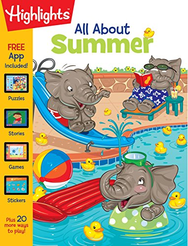 All About Summer (Highlights™ All About Activity (Halloween Math Activities For Grade One)