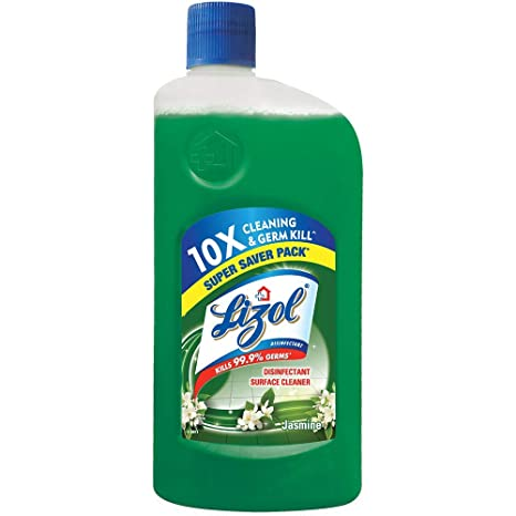 Lizol Disinfectant Floor Cleaner Jasmine, 975 ml