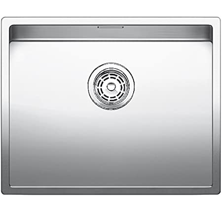 Blanco Kitchen Sinks Uk Blanco claron 500 u 516142 kitchen sink with manual drain fitting blanco claron 500 u 516142 kitchen sink with manual drain fitting for 60 cm cabinets workwithnaturefo