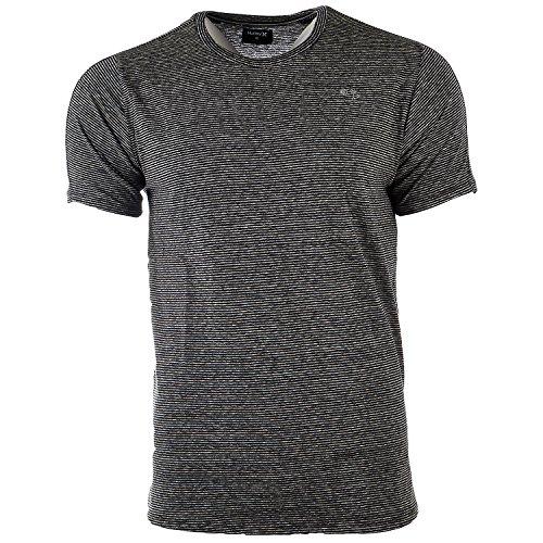 Black Jerseys Static (Hurley Static Crew Short Sleeve T-Shirt X Large Black)