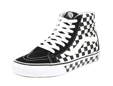 147a404c28 Image Unavailable. Image not available for. Colour  Vans Unisex  Checkerboard SK8-Hi Reissue ...