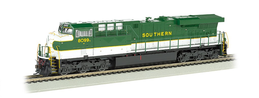 Bachmann GE ES44 AC Southern DCC Sound Value Equipped Locomotive (HO Scale)