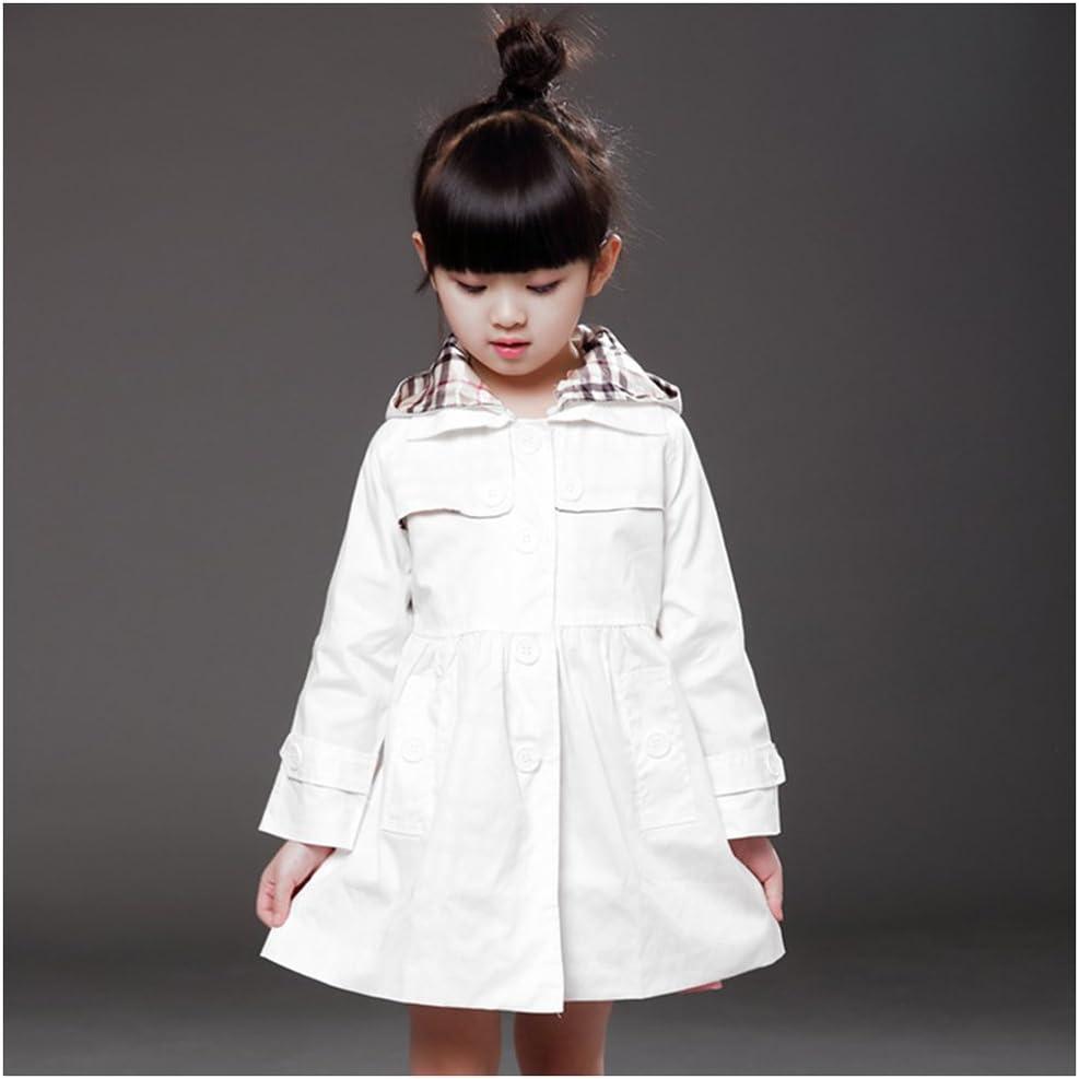 Cappottino Bambina Bimba con Fiocco Cintura Giacca Classico Elegante Fashion Free Fisher