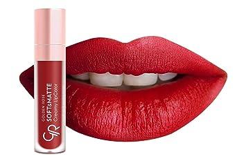 Amazoncom Golden Rose Soft And Creamy Matte Liquid Lipstick 114