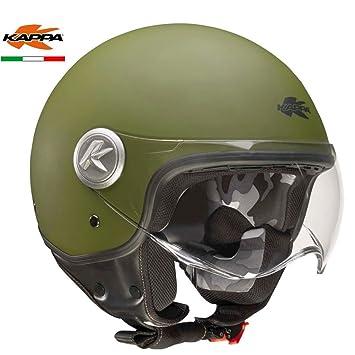 GIVI HKKV20BV63658 Casco Kv20 Rio, Nato Verde Mate, Talla M/58