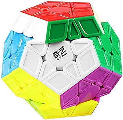 IndiaBuy Megaminx QIYI Stickerless Rubiks Magic Smooth Speed Cube 3D-Puzzle Cube Recommended for 3-99 yrs