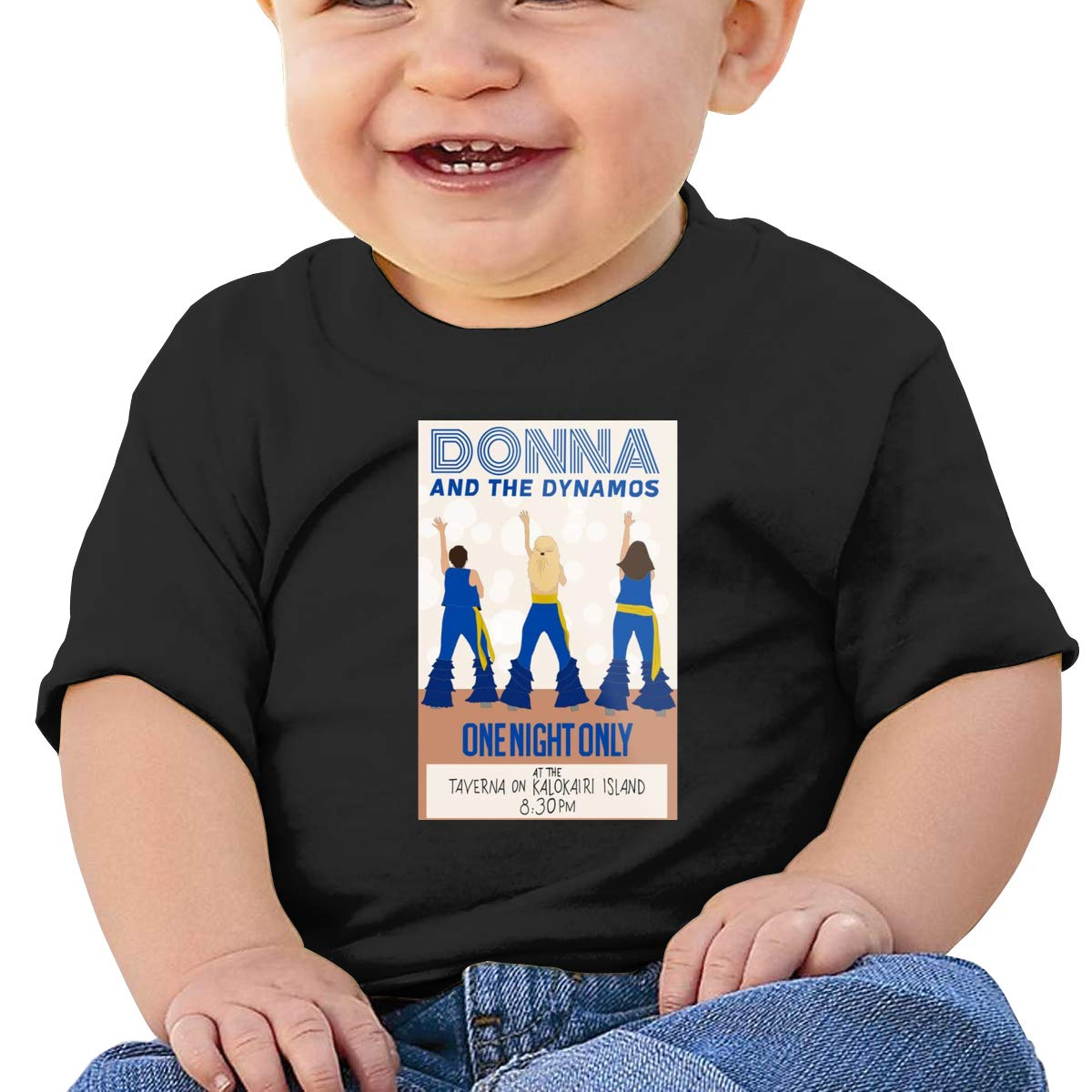 Baby Donna and The Dynamos Short Sleeve Shirt Toddler Tee