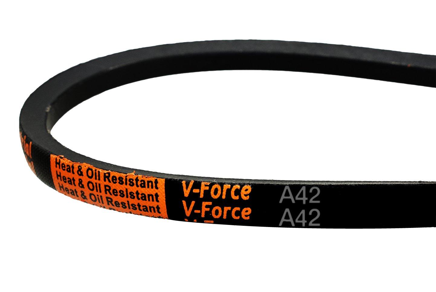 """45.5/"""" Outside Length Z44 Quality Branded V Belt 10mmx6mm 44/"""" Inside"""
