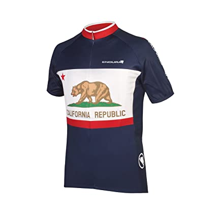 7b5f3544a Amazon.com   Endura California Cycling Jersey