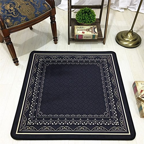 8080 Chair - MLMH European Garden Square Carpet Swivel Chair Computer Chair Anti-Slip Mat Carpet (Size : 8080cm)