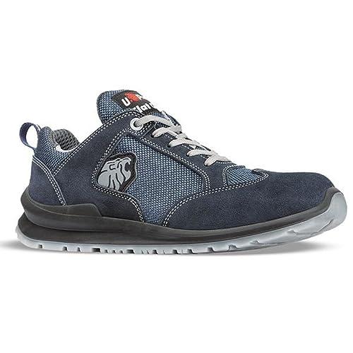 U-Power Zapato Seguridad microfibra Spinning transpirable Ari S1P: Amazon.es: Zapatos y complementos